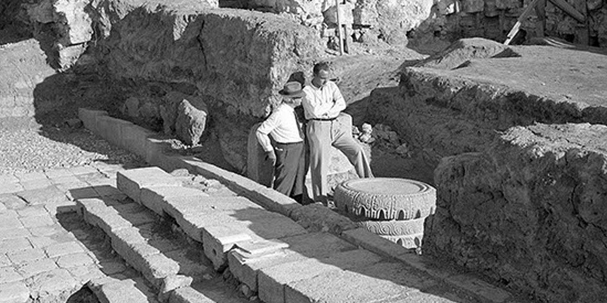 Past Excavations